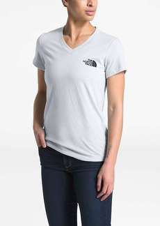 The North Face Women's Half Dome Tri-Blend V-Neck SS Tee