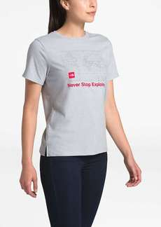 The North Face Women's Recycled Materials Graphic SS Tee