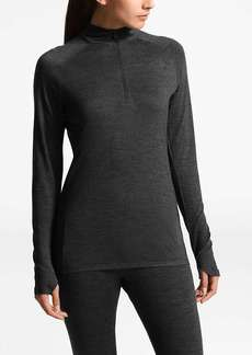 The North Face Women's Wool Baselayer L/S Zip Neck Top