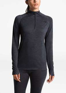 The North Face Women's Wool HGR Baselayer L/S Zip Neck Top