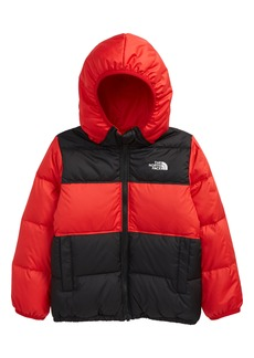 Toddler Boy's The North Face Kids' 'Moondoggy' Water Repellent Reversible Down Jacket