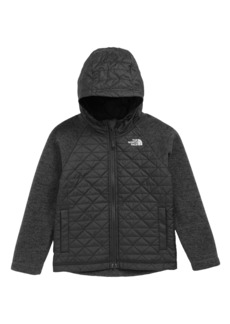 Boy's The North Face Water Repellent Quilted Sweater Fleece Jacket