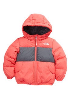 Toddler Girl's The North Face Kids' Moondoggy 500 Fill Power Down Hooded Jacket