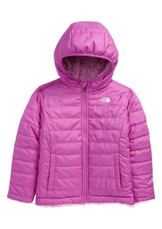 Toddler Girl's The North Face Kids' Mossbud Swirl Reversible Water Repellent Heatseeker(TM) Jacket