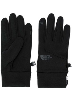 The North Face touch sensitive knitted gloves