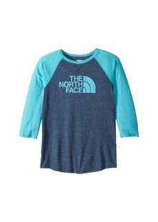 The North Face Tri-Blend 3/4 Sleeve Tee (Little Kids/Big Kids)