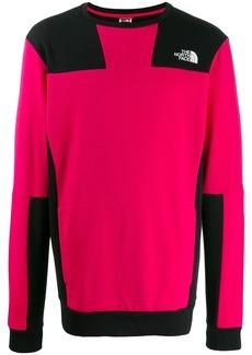 The North Face two-tone logo sweatshirt