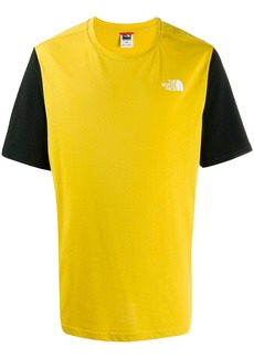 The North Face two-tone logo t-shirt
