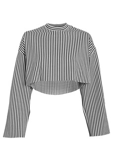 The Range Bound Striped Crop Top