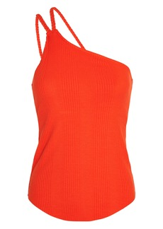 The Range Division Braided One-Shoulder Tank Top