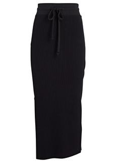 The Range Primary Rib Knit Midi Skirt
