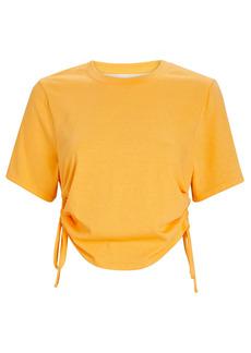 The Range Substance Cropped Bubble T-Shirt