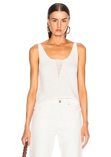 The Range Storm Deconstructed Knit Tank Top
