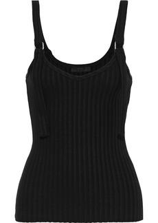 The Range Woman Ribbed-knit Tank Black