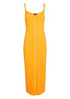 The Range Wave Rib Knit Midi Dress
