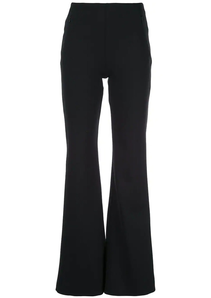 The Row high waist flared trousers