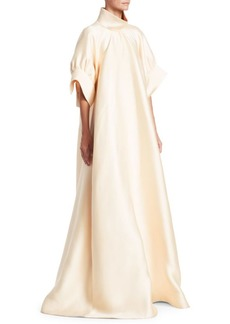 The Row Alba Silk Trapeze Gown