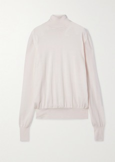 The Row Andrett Cashmere Turtleneck Sweater