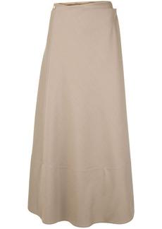 The Row Ava wrap skirt