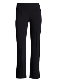 The Row Beca Scuba Cropped Flare Pants