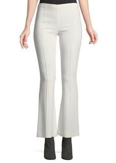 The Row Beca Side-Zip Flared-Leg Pants