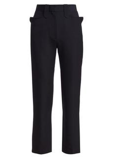 The Row Ben Virgin Wool & Silk Trousers