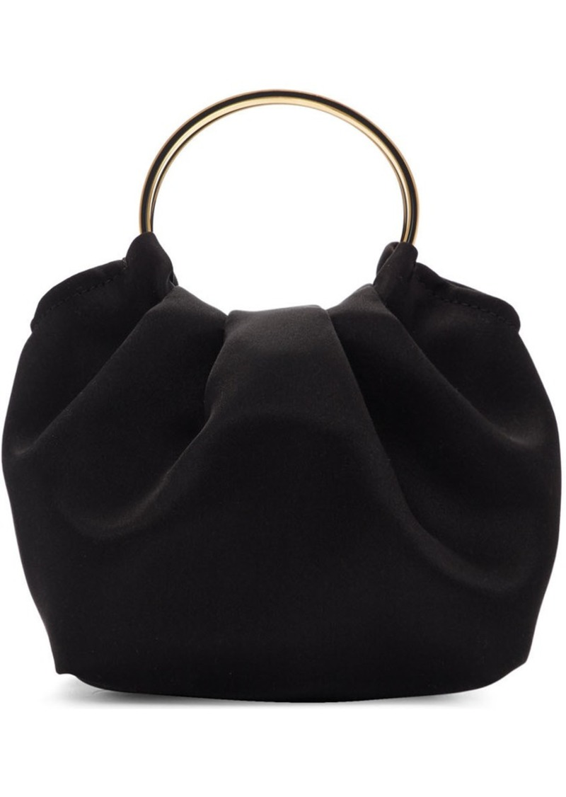 The Row Black Micro Double Circle Bag