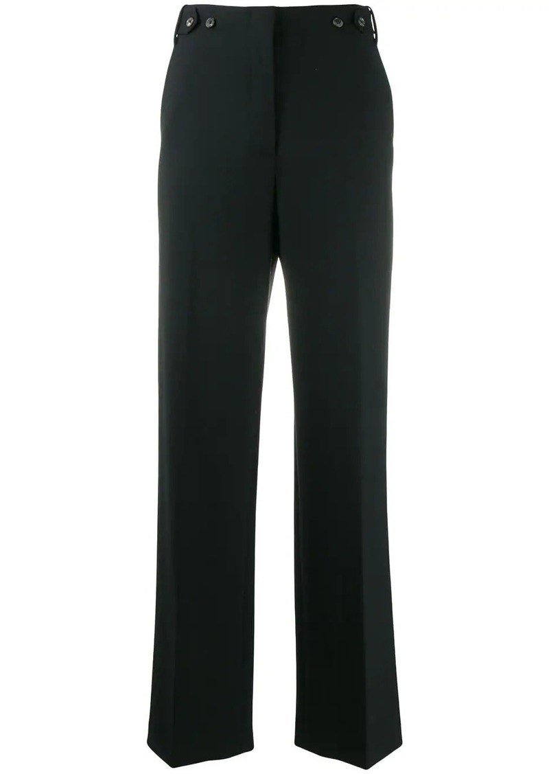 The Row boot cut trousers