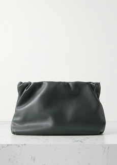 The Row Bourse Leather Clutch
