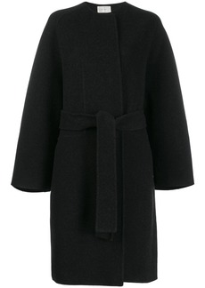 The Row boxy fit textured coat