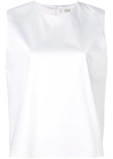 The Row boxy sleeveless T-shirt