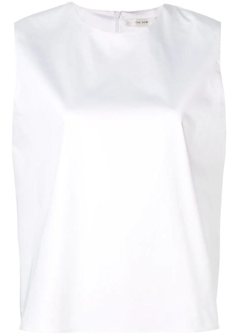 The Row boxy sleeveless T-shirt