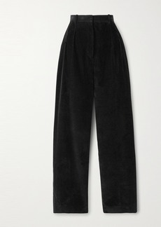 The Row Chandler Cotton-corduroy Straight-leg Pants