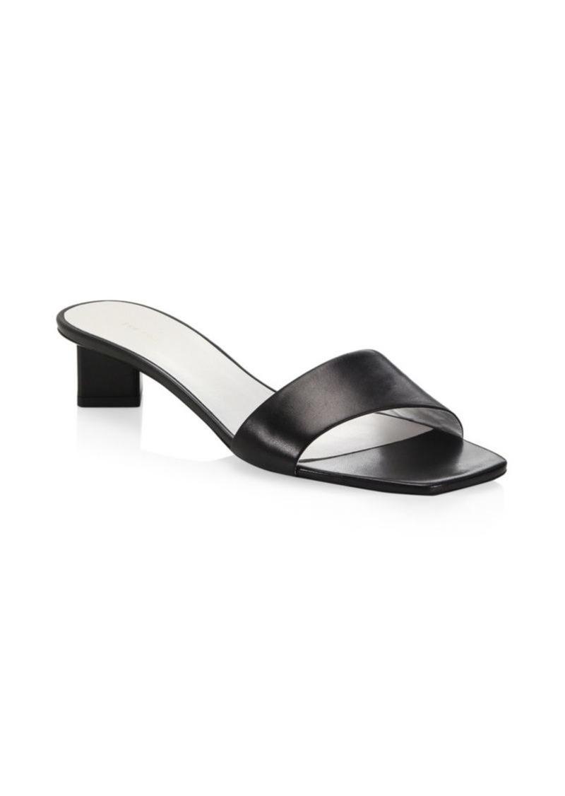 e1adcb29ef3e1 The Row Chocolate Leather Sandals | Shoes