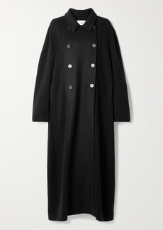 The Row Cilona Oversized Double-breasted Cashmere And Wool-blend Coat
