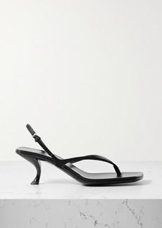 The Row Constance Calf Hair Slingback Sandals