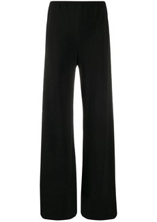 The Row crepe wide-leg trousers