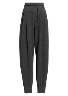 The Row Dado Belted Cashmere Pants