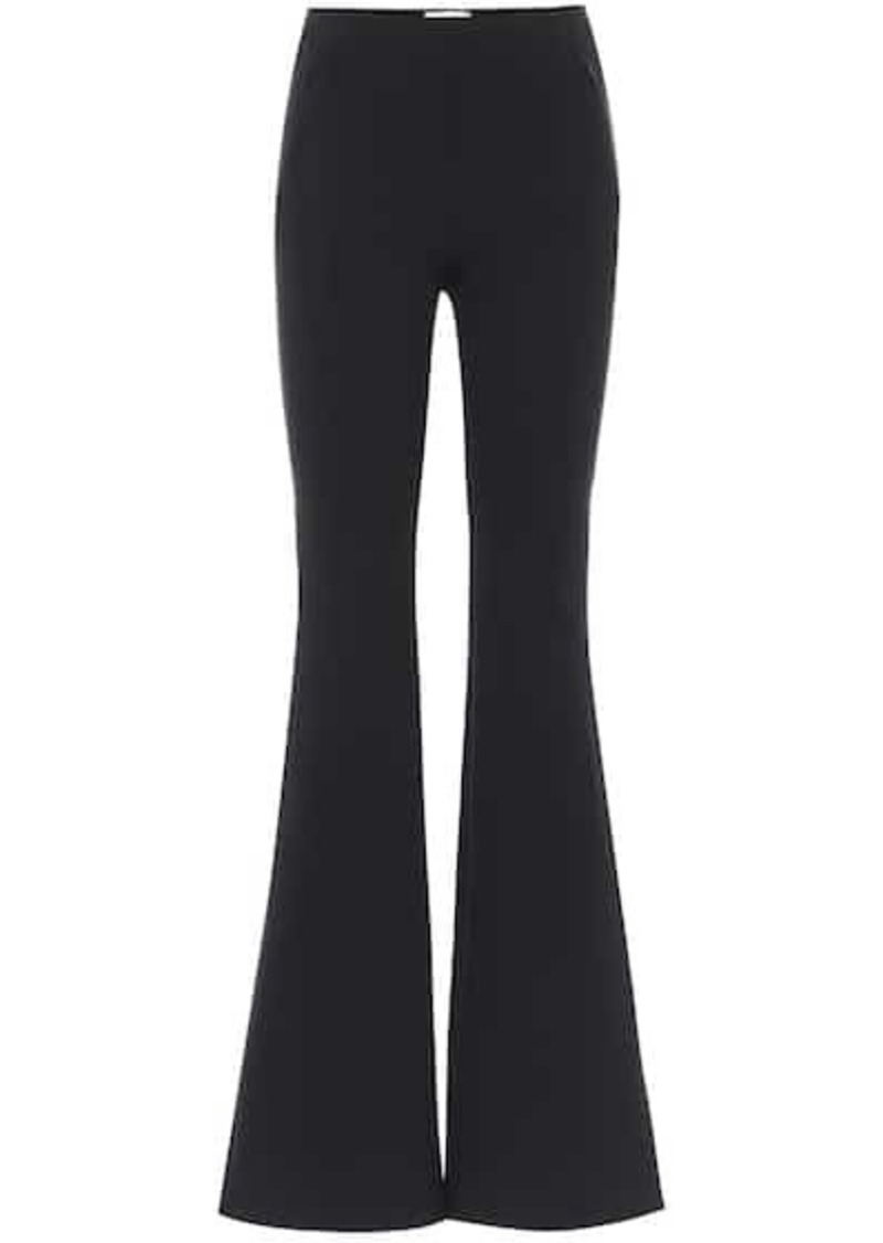 The Row Delon high-rise flared pants