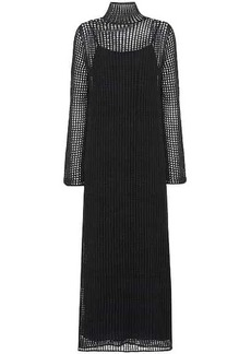 The Row Dieter silk maxi dress