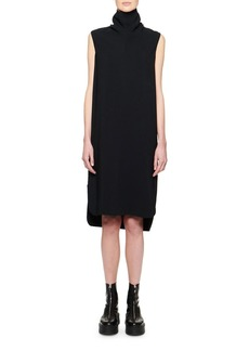 The Row Dorma Funnel-Neck Sleeveless Dress