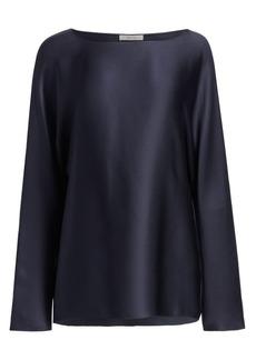 The Row Dylia Silk Top