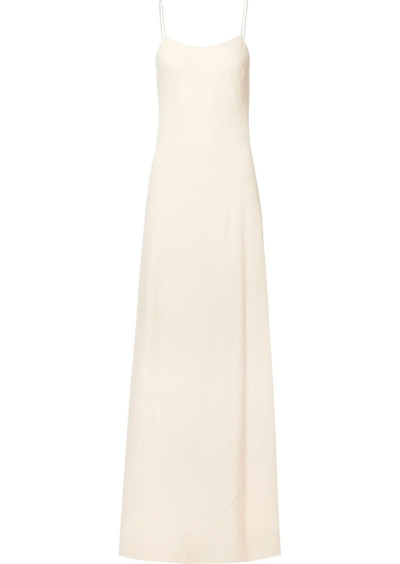 The Row Ebbins Crepe Maxi Dress