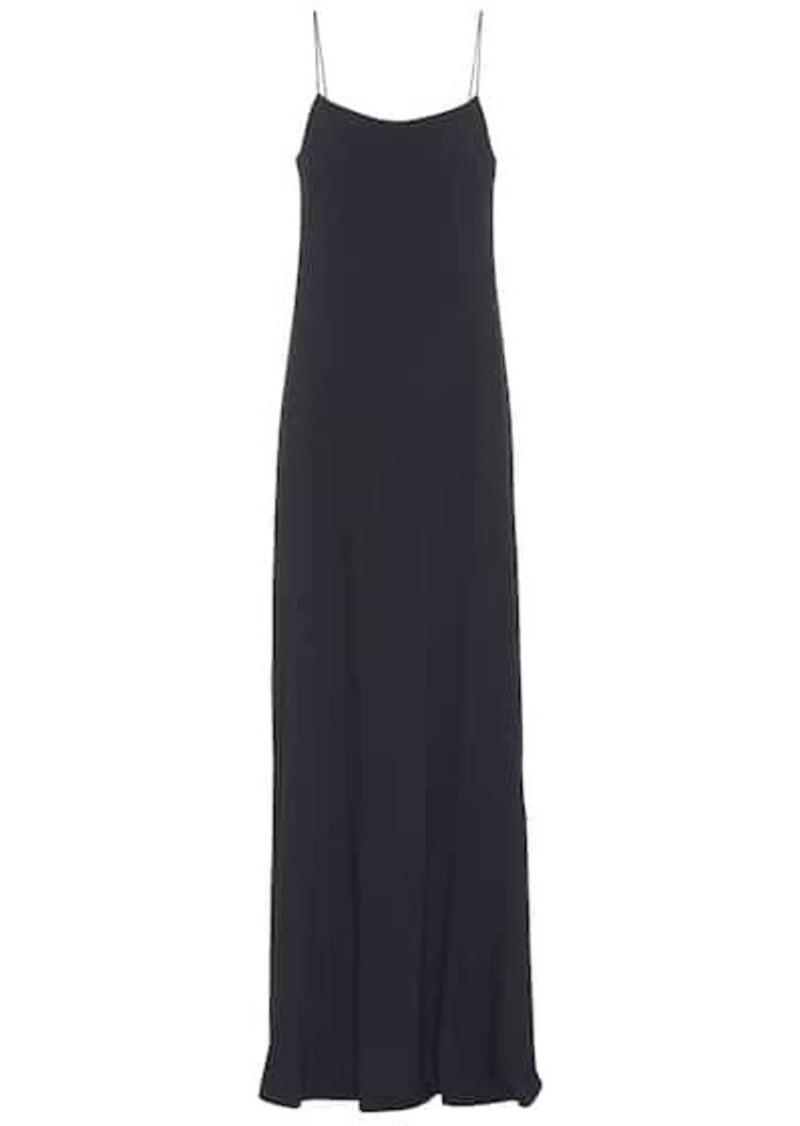 The Row Ebbins sleeveless crêpe gown