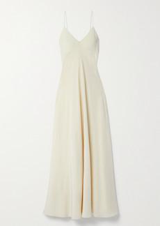 The Row Edi Silk Crepe De Chine Maxi Dress