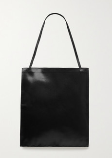 The Row Flat Hammered-satin Tote