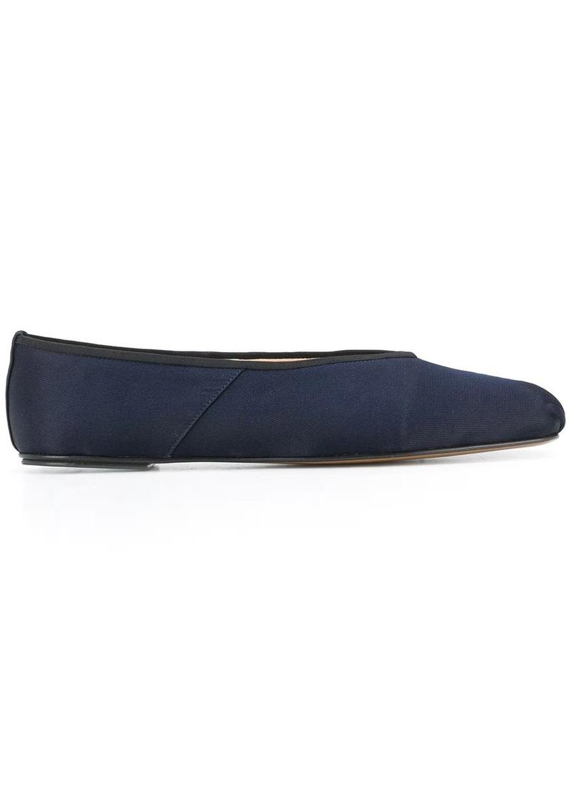The Row flat slip-on ballerina shoes