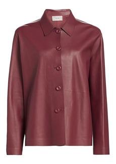 The Row Frim Leather Jacket