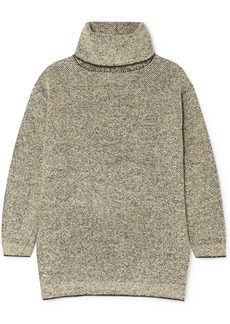 The Row Gene Cashmere And Silk-blend Turtleneck Sweater