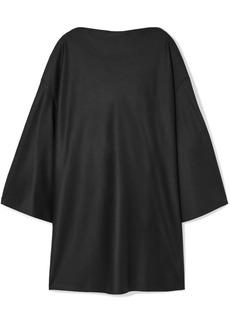 The Row Harper Oversized Wool-felt Dress